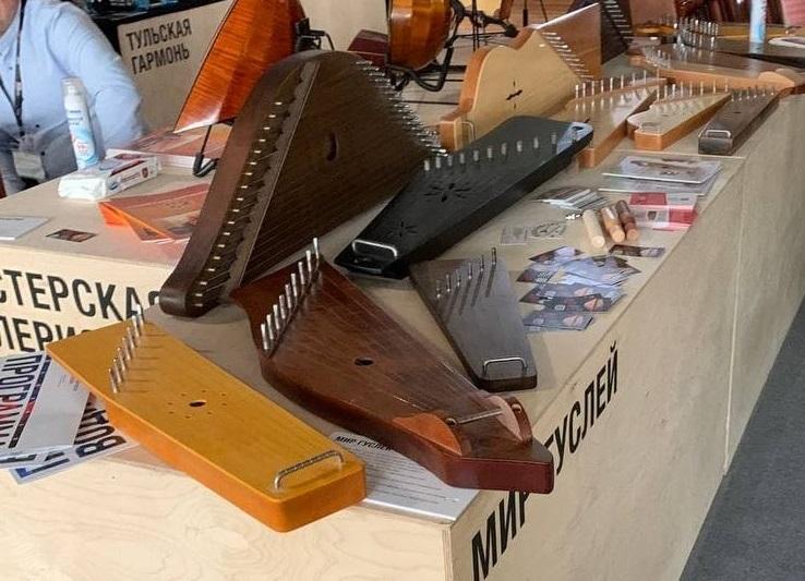 """""""Мир гуслей"""" на выставке Musikmesse 2021."""